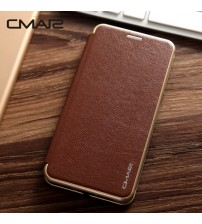 Magnetic Flip Leather Wallet
