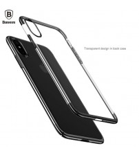 iPhone X Plastic Transparent Phone Case