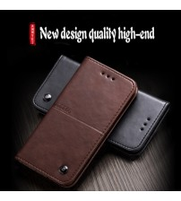 iPhone X Leather Phone Back Cover