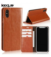 iPhone X Genuine Leather Case