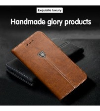 iPhone X Leather Cell Phone Back Cover