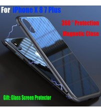 iPhone X Adsorption Metal Case