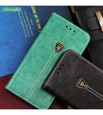 Leather Cover Flip Case