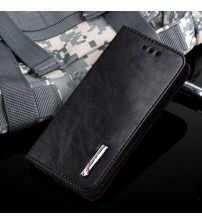 Collision Built-in Pocket Phone Flip Case