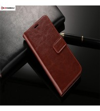 Leather Wallet Silicone Cover Flip Case