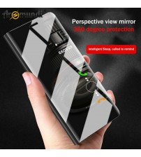 Luxury Clear Mirror Flip Case
