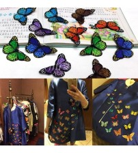10PCS/Lot Butterfly Patches