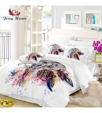 Dream Catcher Feather Duvet Cover Pillowcases
