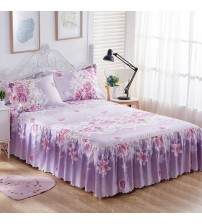 3PCS Bedding Sets Bed Skirt Sheet