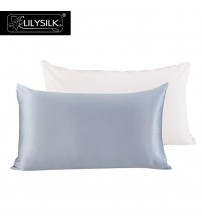 100% Pure Mulberry Silk Pillowcase with Cotton Terse Pillow