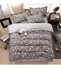 4pcs/set Duvet Cover Set Pastoral BedSheet