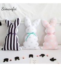 Ribbon Rabbit Back Cushion Kids