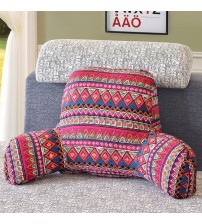 1-Piece Cotton Linen Backrest Cushion For Sofa