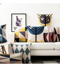 Stylish And Cozy Geometric Throw Pillows