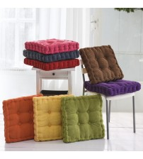 Thick Corduroy Elastic Chair Cushions