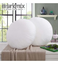 Non Woven Fabrics Throw Pillow Inner Round
