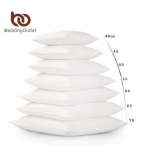 White Cushion Insert Soft for Car Sofa