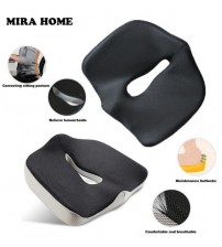Health Max Coccyx Orthopedic Memory Foam Seat Cushion