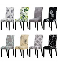 Printing Floral Universal Size Chair Cover Seat