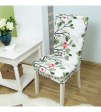 Floral Printing Anti-dirty Stretch Chair Covers
