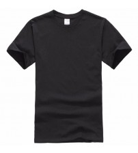 Europe Size Solid color 100% Cotton T Shirt