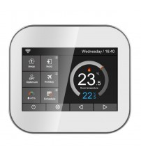 Wifi Color Touch Screen Thermostat For Water Heating