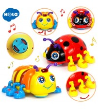 Crawl Beetle Electric Toy Bee