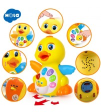 Flapping Yellow Duck Toy