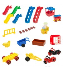 Building Blocks Accessory Assembling Toys