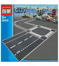 City Road Street Baseplate Lego