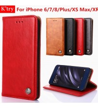 iPhone 6 6S Plus Retro Leather Case