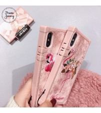 iPhone 6/6S Embroidery Flamingo Phone Case
