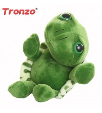 20cm Super Green Big Eyes Stuffed Tortoise Toy
