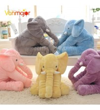 1PC 40/60cm Elephant Stuffed Doll