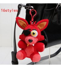 14cm Freddy Bear Keychain Plush Toy