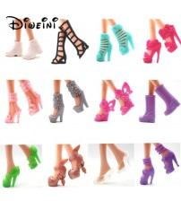 12PCS Shoes for Barbie Dolls Toys
