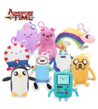 13-21cm Adventure Time Plush Keychain Toys