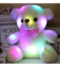 20CM Colorful Glowing  Luminous Plush Baby Toys