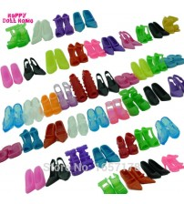 12 Pairs Barbie Doll Mixed High Heels Sandals