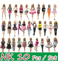 10 Set/Lot  Princess Doll Dress