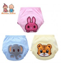 3 Pcs/lot Baby Washable Diapers