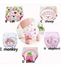 5Pcs Training Pants Reusable Baby Diapers