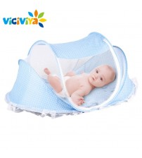 Baby Bed Pillow+Mat Set Portable+Netting