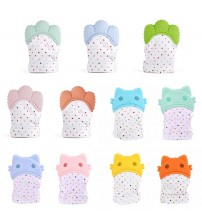 1 Pcs Silicone Teether Baby Pacifier Glove