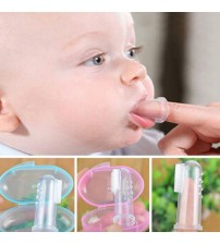 Baby Finger Toothbrush Silicon