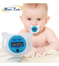 Baby Nipple Thermometer Silicone Pacifier