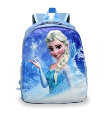 Cartoon Princess Elsa School Bags for Girls