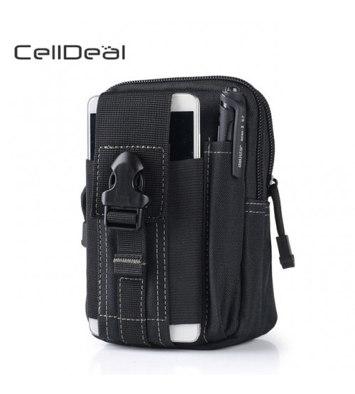 Canvas Men Casual Molle Waist Pack