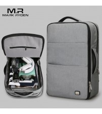 Huge Capacity Waterproof USB Laptop Backpack