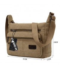 Amarte Vintage Men Canvas Handbags